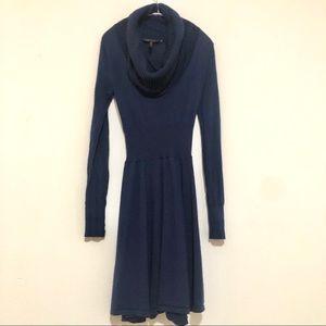 Bcbg Maxazria Navy dark blue long sleeve dress